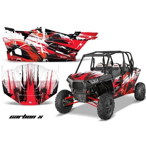 """Комплект графики AMR Racing Carbon X (RZR1000XP """"4door"""")"""