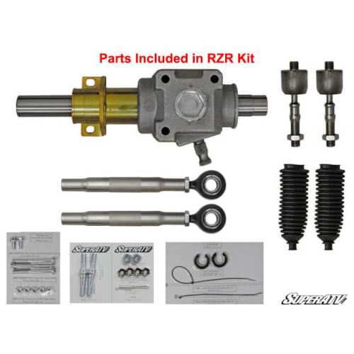 Рулевая рейка SuperATV для Polaris RZR 800 /RZR 570 2008+ 1823632 SuperAtv HDRP-1-1-002